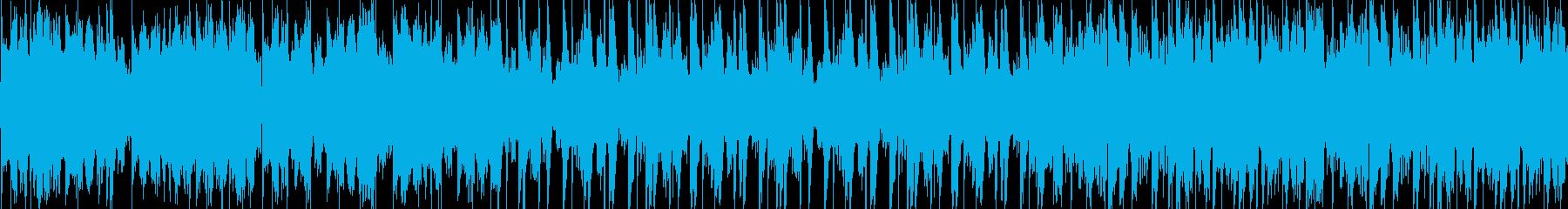 雨の日に/チルアウトヒップホップ/ループの再生済みの波形