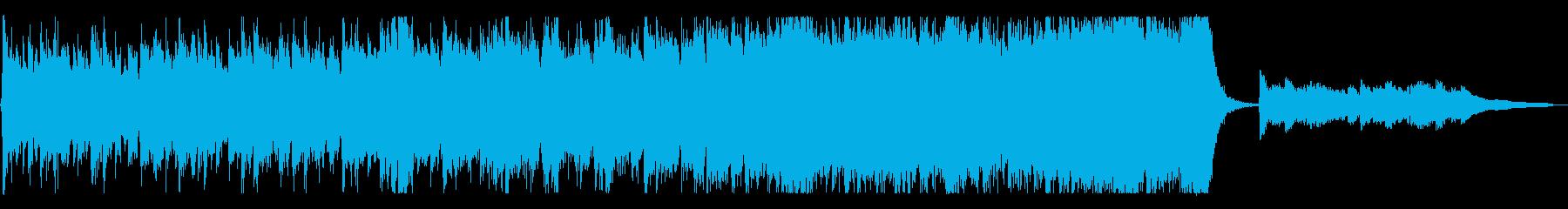 オーケストラ/力強く感動的_短めの再生済みの波形