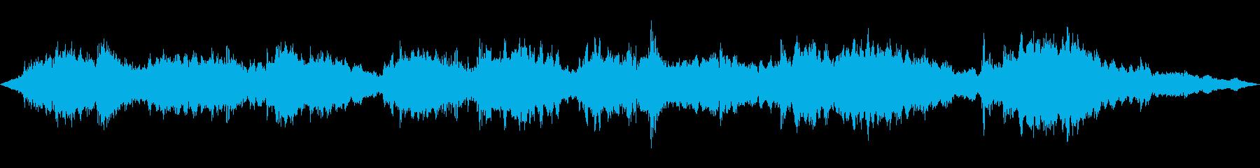 ヨガとマッサージ。尺八。シュカキーの再生済みの波形