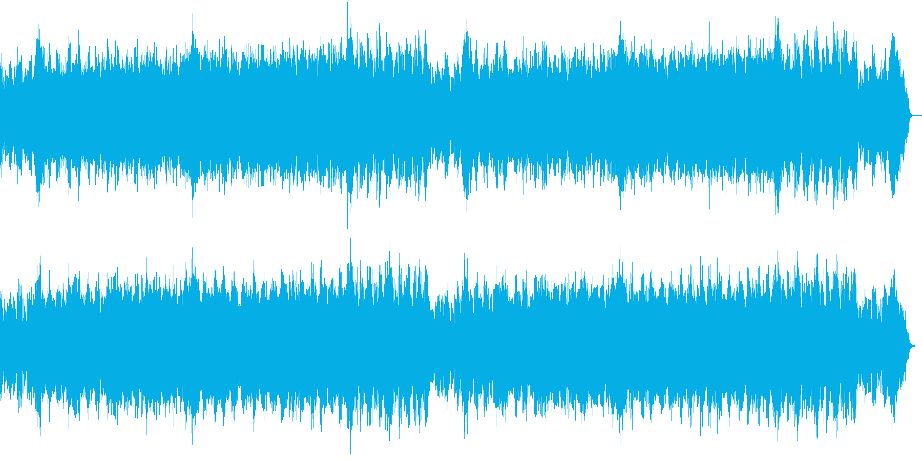 ハリウッド風オーケストラ:一触即発の緊迫の再生済みの波形