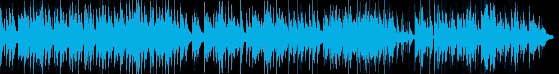 感動的で泣けるピアノソロバラード曲の再生済みの波形