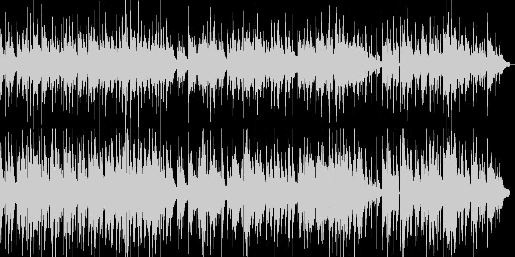 感動的で泣けるピアノソロバラード曲の未再生の波形