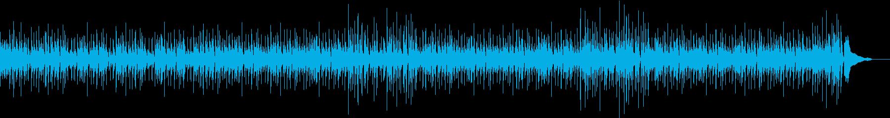 軽やかで可愛らしいスイングピアノの再生済みの波形