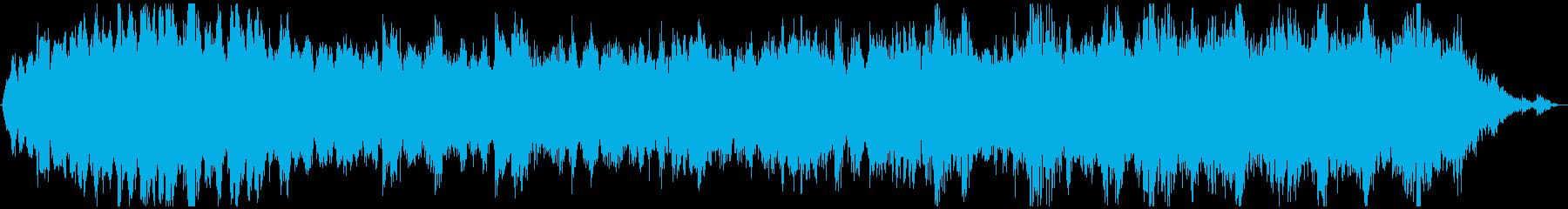 ドローン バブリングブルック01の再生済みの波形