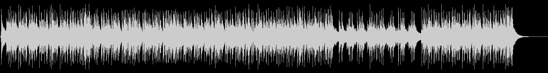 ピアノトリオのアグレッシブなラテンジャズの未再生の波形
