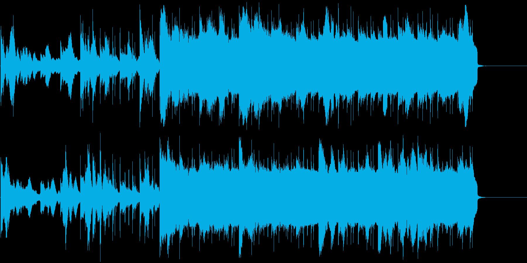 優しく浮遊感のあるイージーリスニングの再生済みの波形