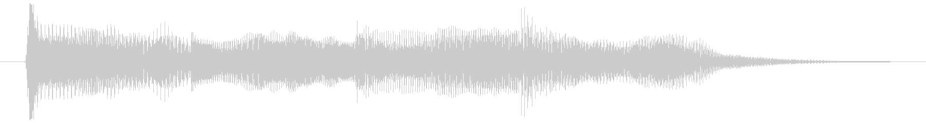 ゲームオーバー ミス 決定音 選択 使用の未再生の波形