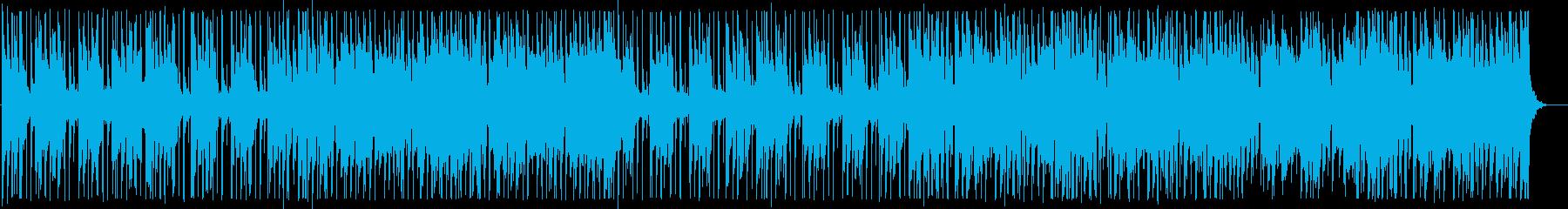 涼しげな夏のカフェBGM_No584_2の再生済みの波形