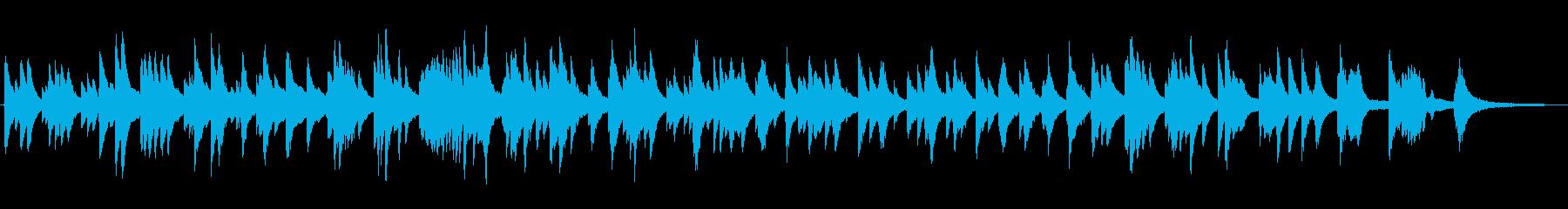 落ち着いたジャズ風ラウンジピアノソロの再生済みの波形