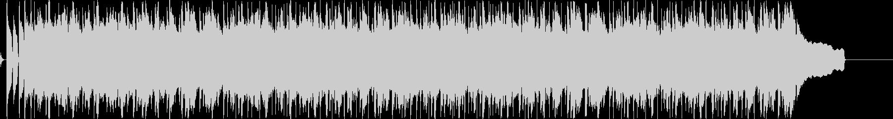 ほのぼのしたアコースティックなBGMの未再生の波形