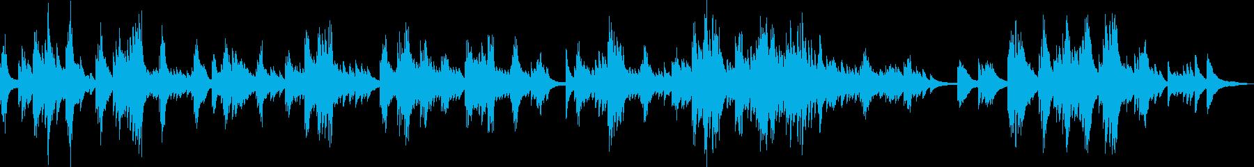 悲しいピアノバラード(切ない・暗い)の再生済みの波形