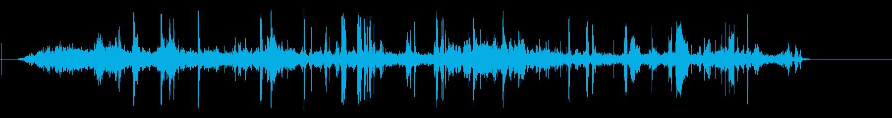 Ambience of the Ramblas De Barcelona street's reproduced waveform