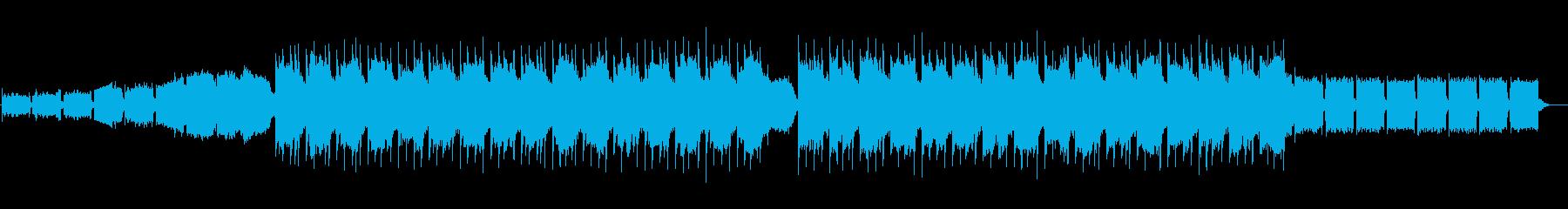 ファイティングテーマの再生済みの波形