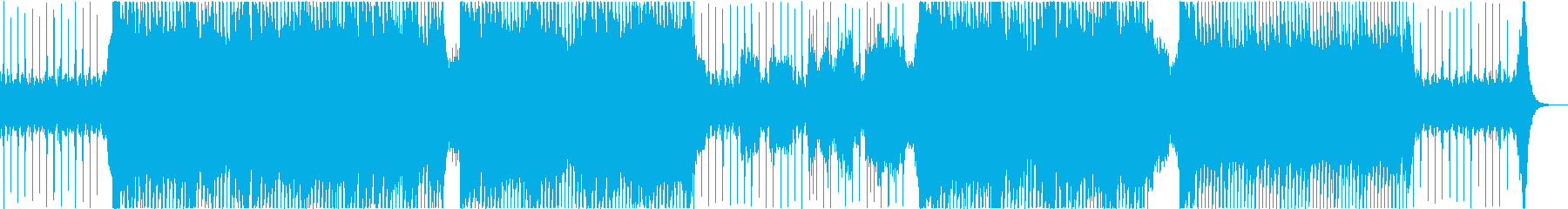 風をイメージした穏やかなフルートBGMの再生済みの波形