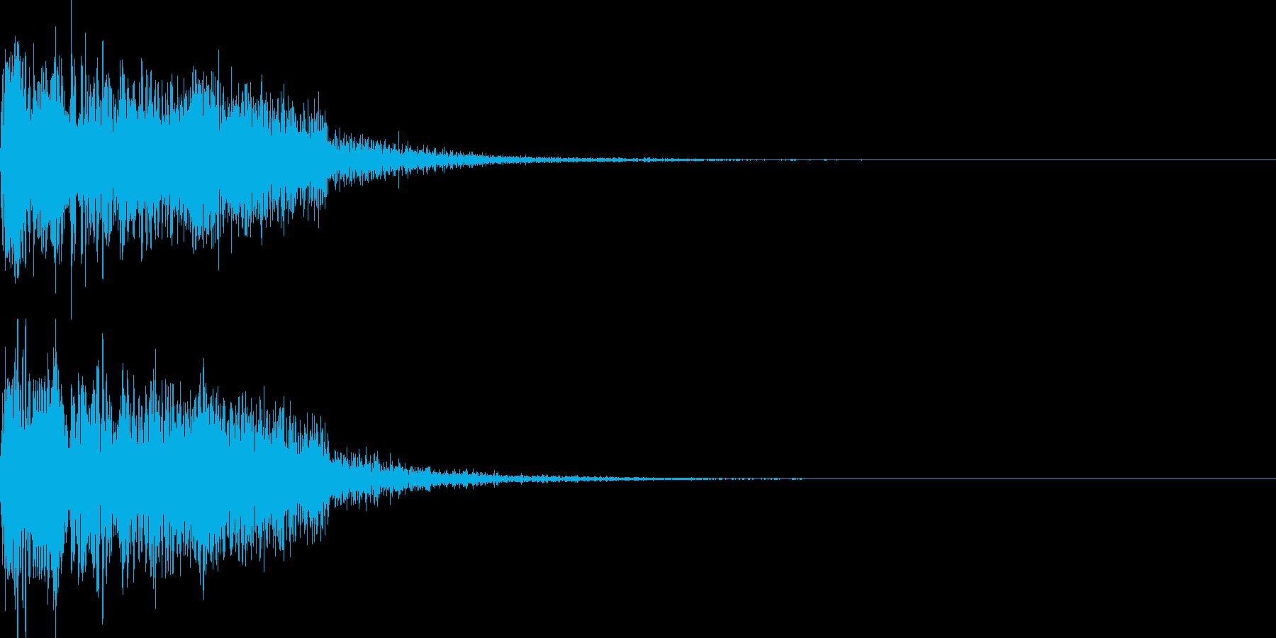 ショット_その12の再生済みの波形