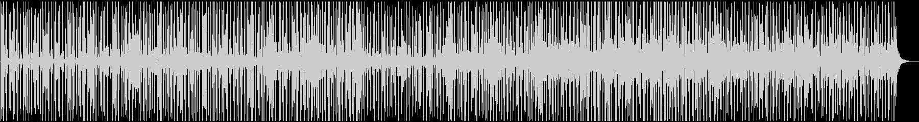 軽快カッティングギターのシンプルなBGMの未再生の波形