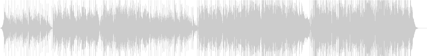 ノラジョーンズ風、スローピアノバラード曲の未再生の波形