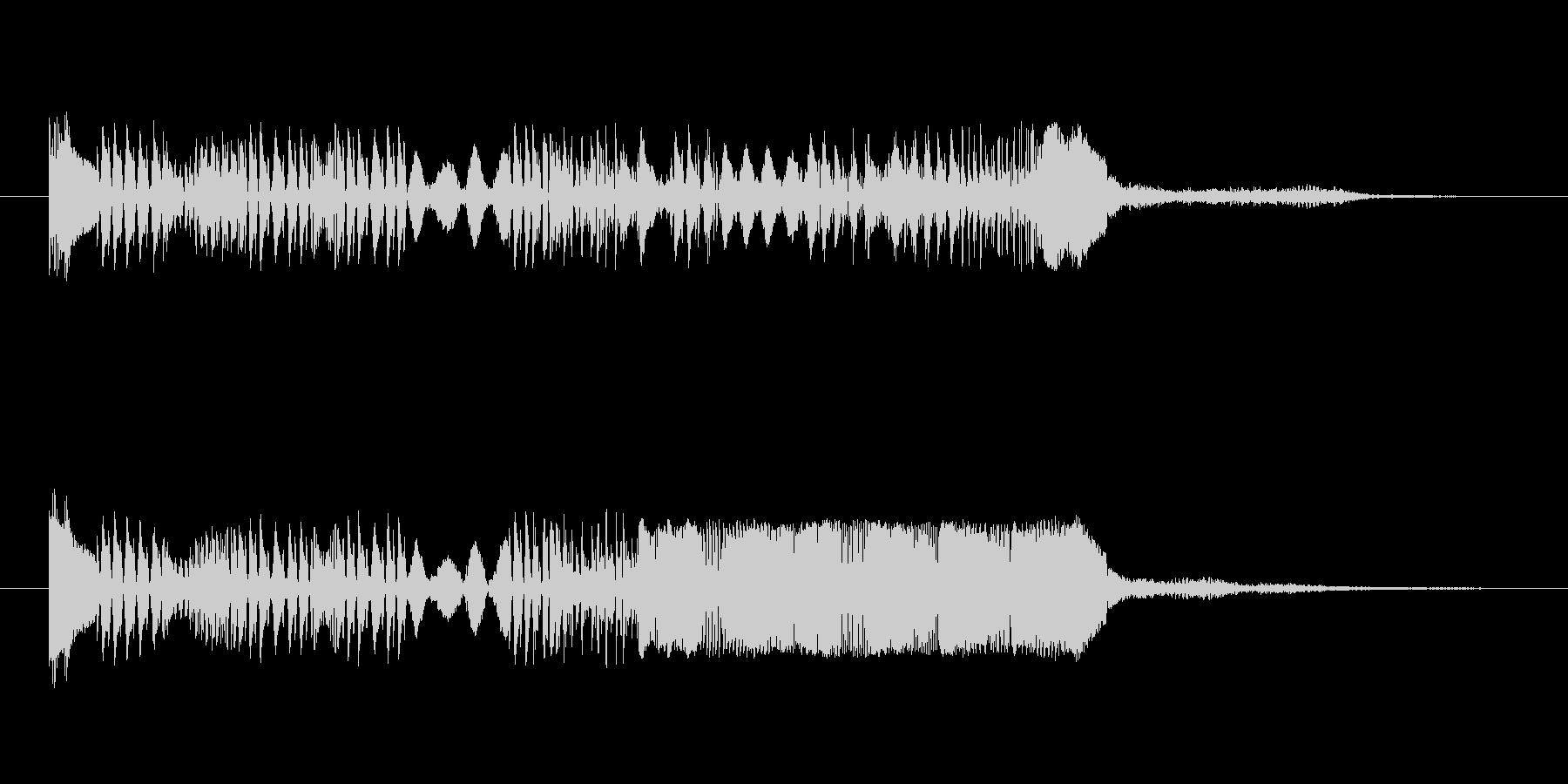 SFちっくなアイキャッチ3の未再生の波形
