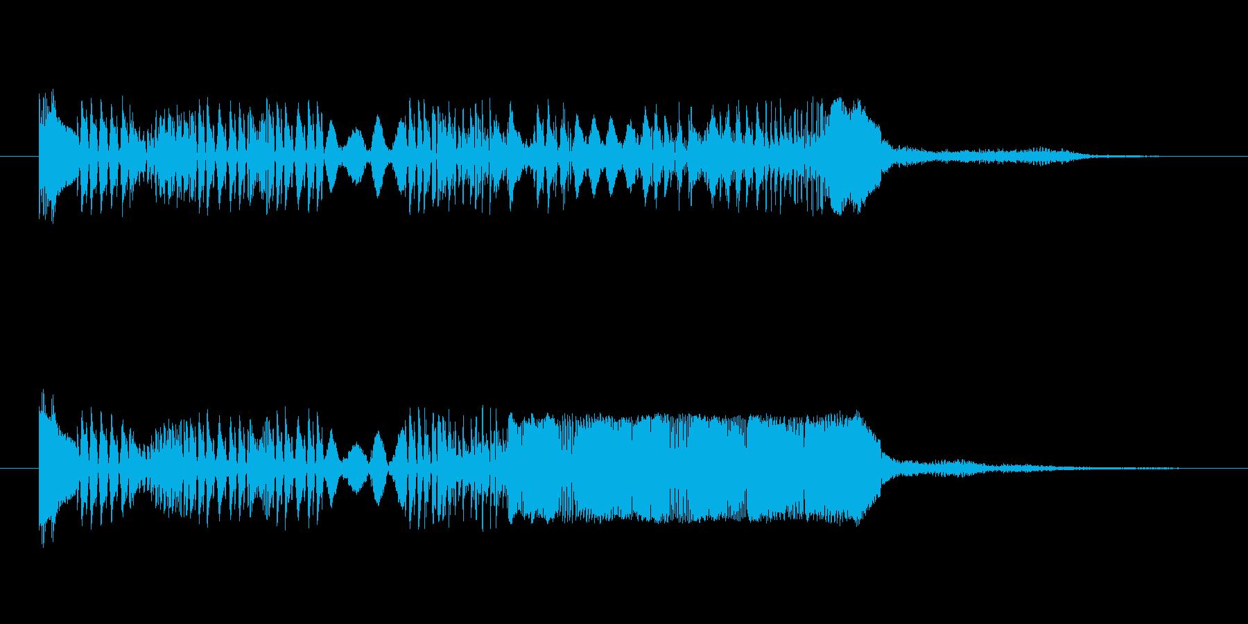 SFちっくなアイキャッチ3の再生済みの波形