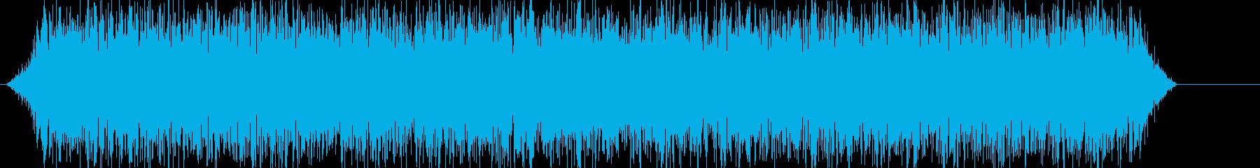 【ゴォ〜】地震、地響き、地鳴りに最適ですの再生済みの波形