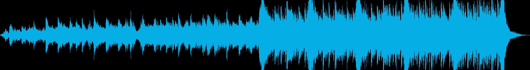 動画 サスペンス 説明的 やる気 ...の再生済みの波形