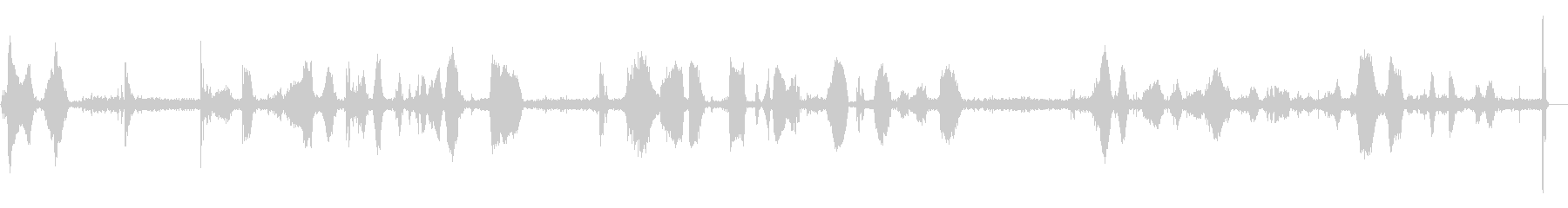 POLICE RADIO CALL...の未再生の波形