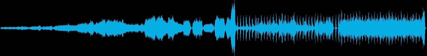 交響詩「レクイエム」の再生済みの波形