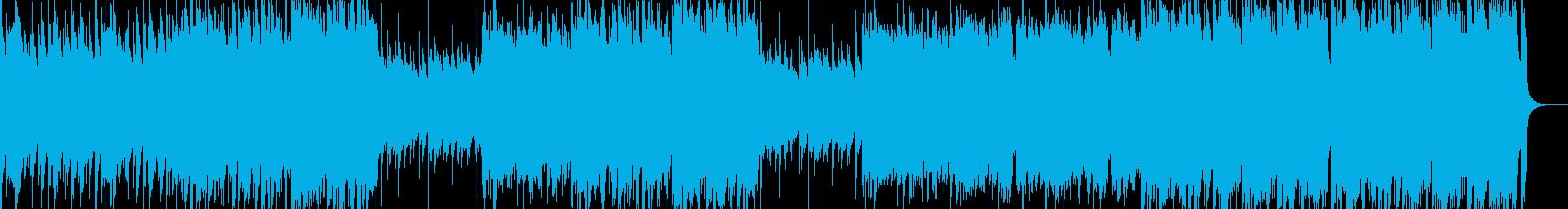 バグパイプを用いたトラッドの再生済みの波形