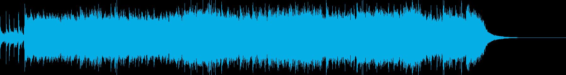 爽快な8ビートパンクロックの再生済みの波形