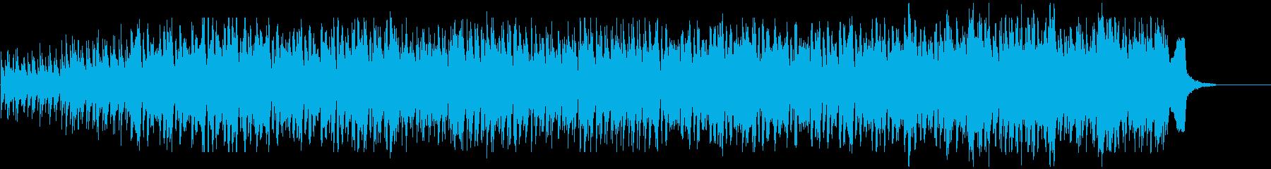 中世、ヨーロッパ、マンドリン、フィドルの再生済みの波形