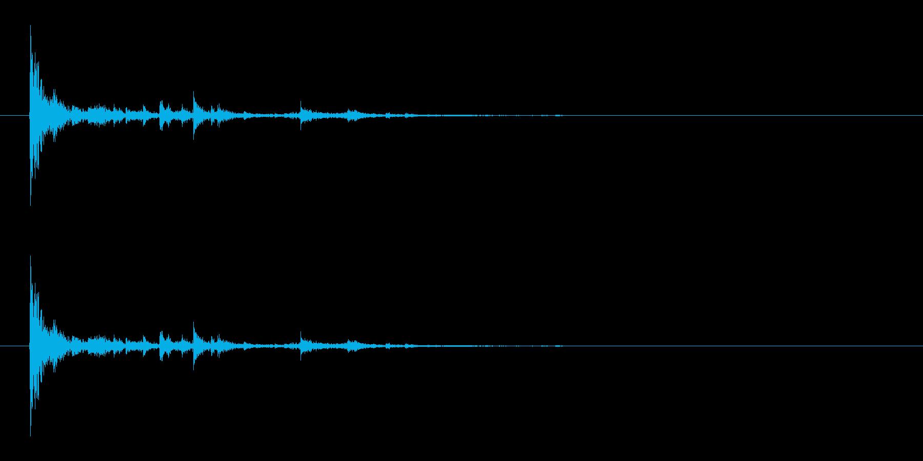 シャベルの再生済みの波形