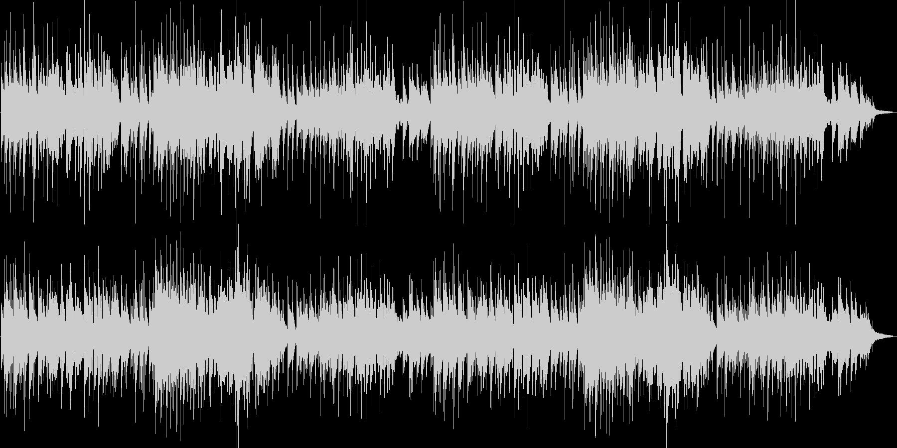3拍子の幻想的なピアノの未再生の波形