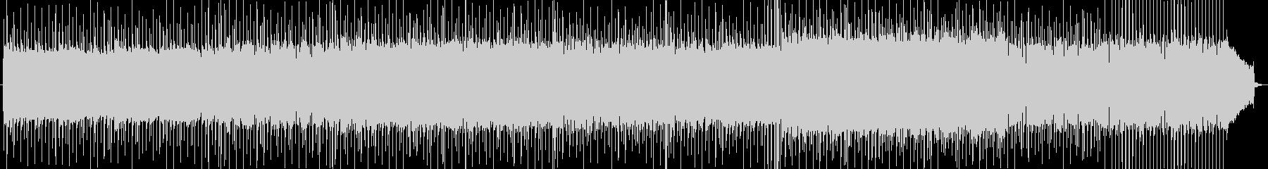 熱いロックンロールなバンドサウンドの未再生の波形