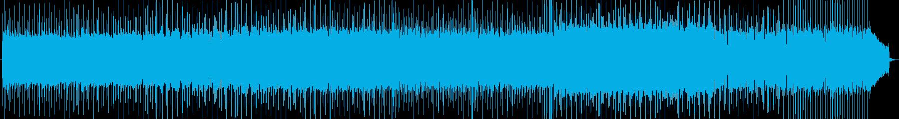 熱いロックンロールなバンドサウンドの再生済みの波形