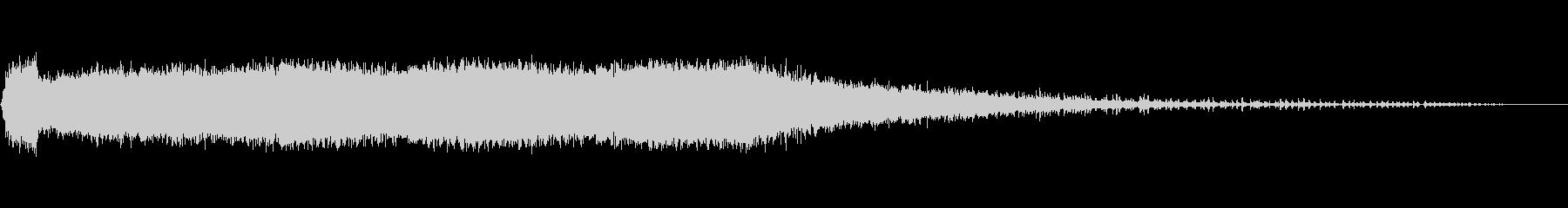 丸鋸3回の未再生の波形