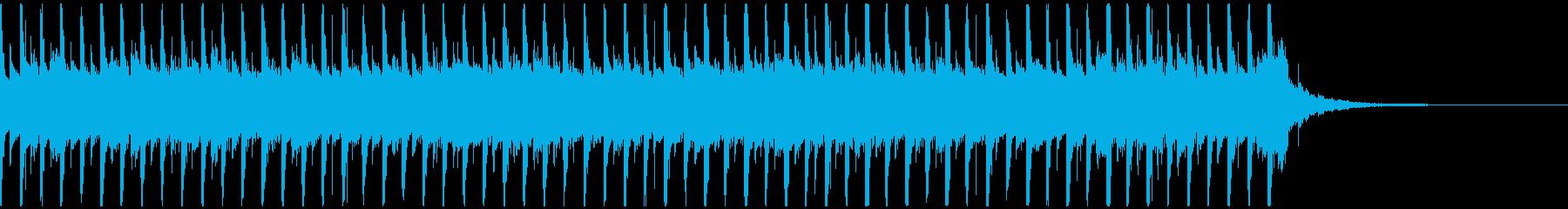 企業VP映像02/爽やか落ち着くギターAの再生済みの波形