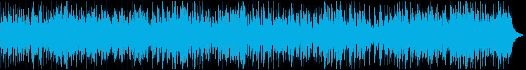 お洒落でポップなボサノバBGMの再生済みの波形