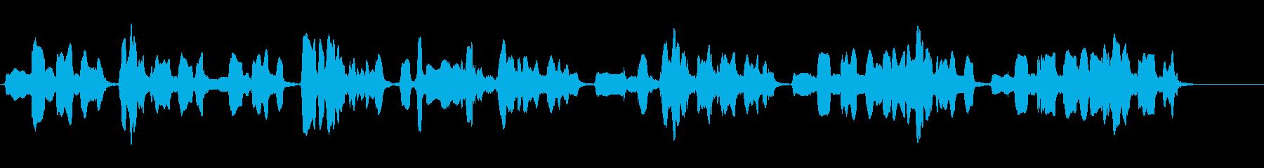 尺八の独奏 生演奏 和風のシーンなど 5の再生済みの波形