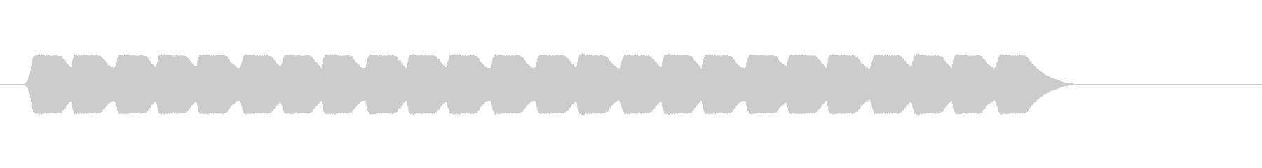ファミコン風 台詞.メッセージ音 03の未再生の波形