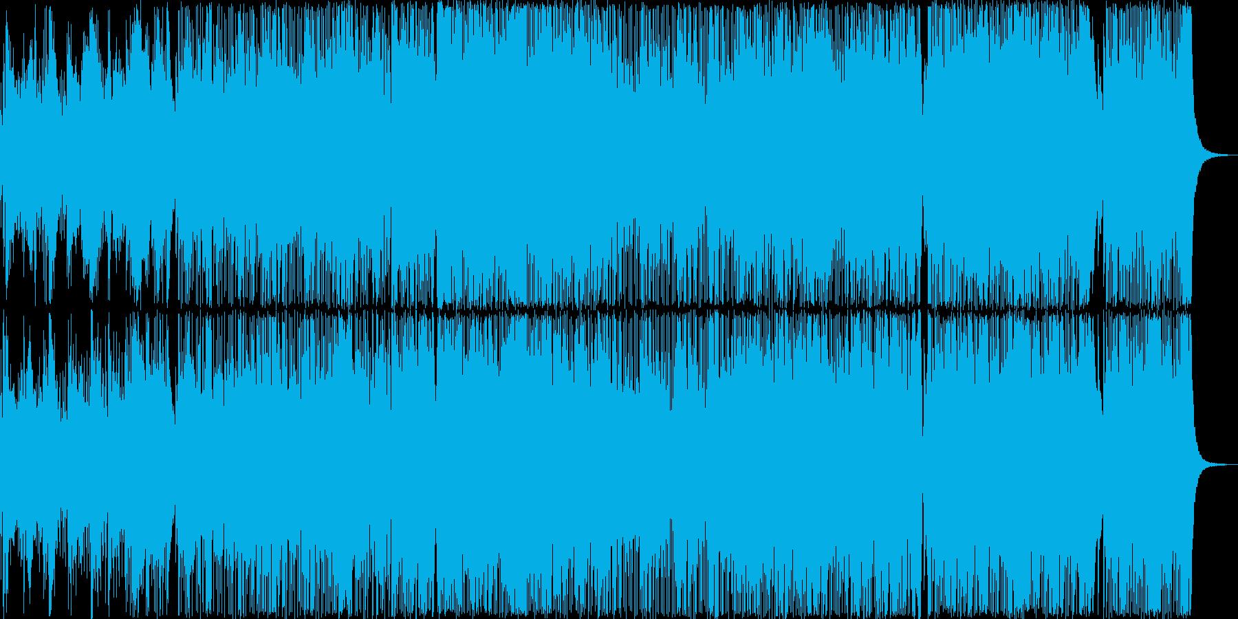 初夏の海岸線〜軽快で明るいピアノ曲の再生済みの波形