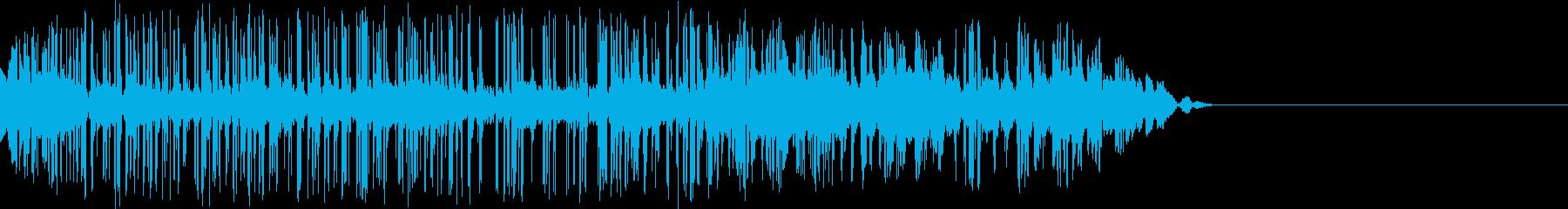 攻撃ダメージの再生済みの波形