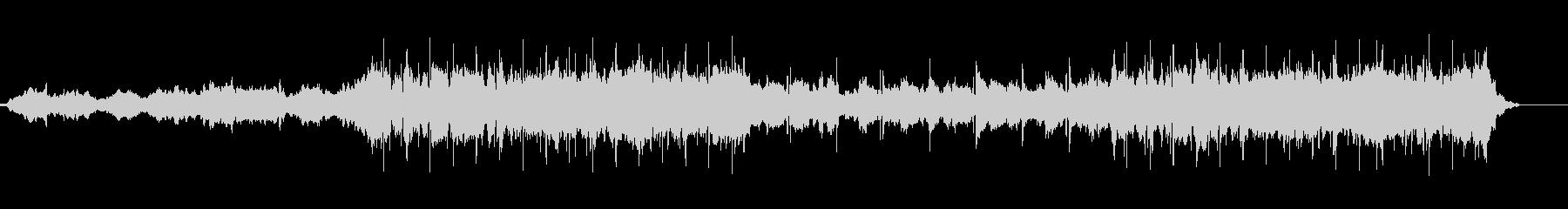 幻想的なlo-fiリラックスBGMの未再生の波形