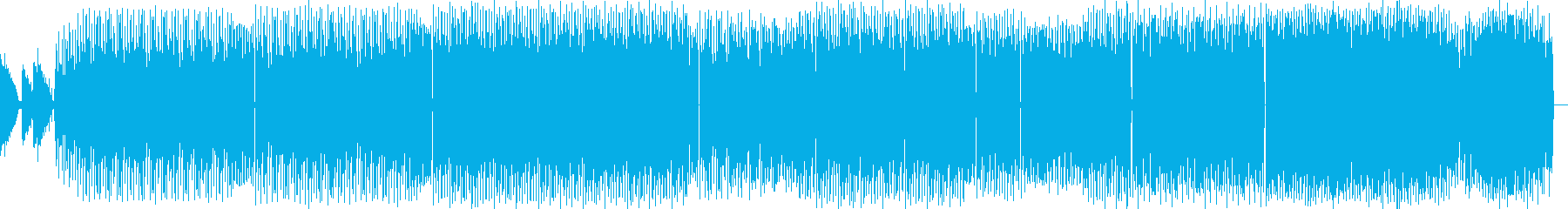 どことなく牧歌的なビッグビートの再生済みの波形