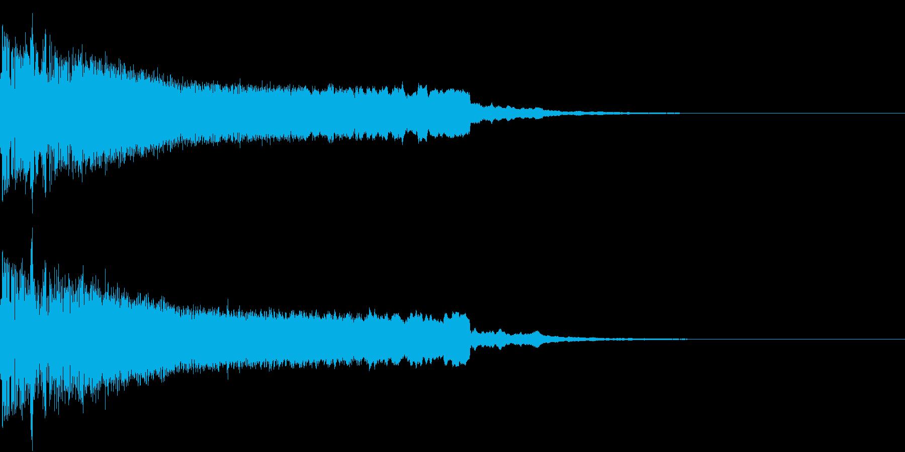 ピキューン ピキーン ズキューン 3の再生済みの波形