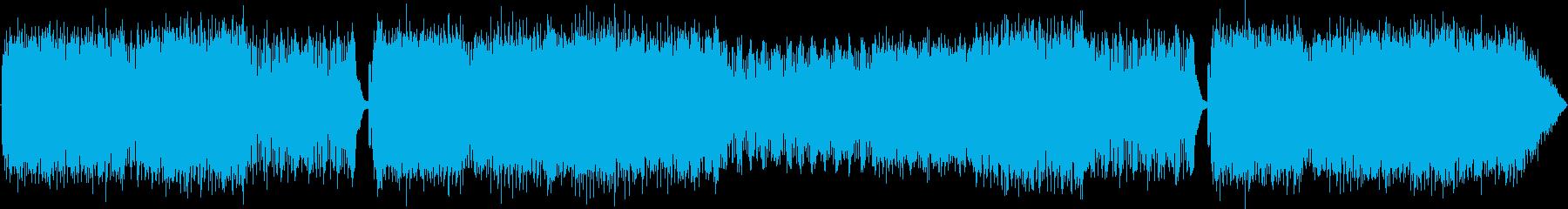 疾走感のあるエレクトロロックの再生済みの波形