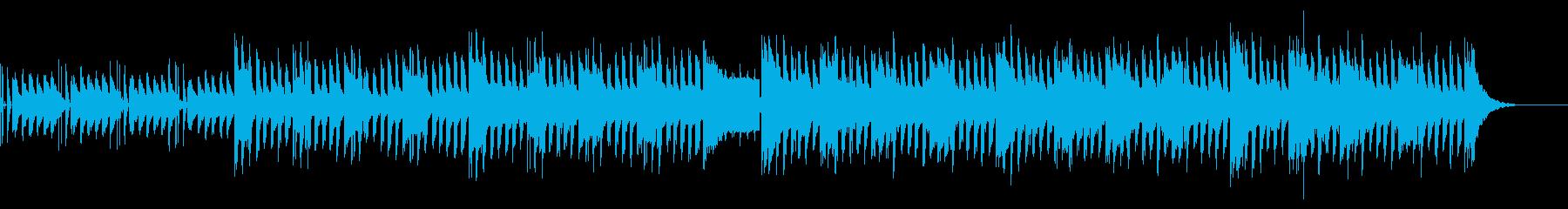 未来的なサウンドと脈打つシンセが、...の再生済みの波形