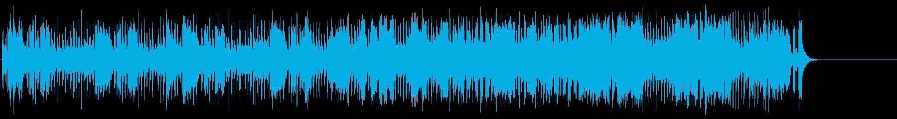 軽快なポップ R&R(Aメロ~サビ)の再生済みの波形