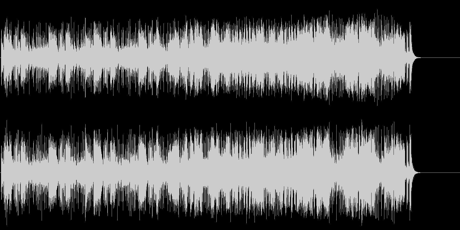 軽快なポップ R&R(Aメロ~サビ)の未再生の波形