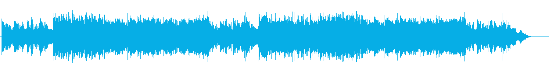 幻想的な5拍子のエレクトロの再生済みの波形