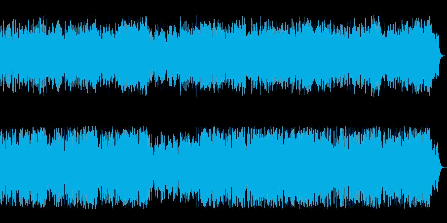 動画 アクション 説明的 楽しげ ...の再生済みの波形
